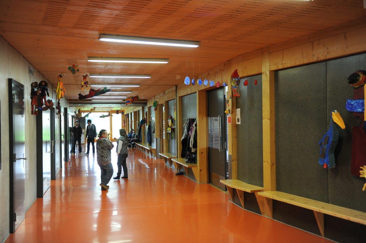 Centre de jour – couloir